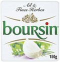 Boursin Soft Cheese with Garlic and Herbs