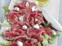 Angus Beef Carpaccio with Gorgonzola Recipe