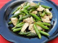 Asparagus and Chicken Stir