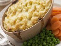 Beef and Ale Pie with Bubble and Squeak Topping