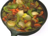 Beef and Spring Vegetable Casserole