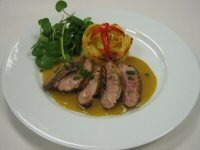 Canard au Poivre (Duck with Peppercorns)