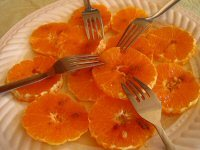 Carpaccio of Oranges with Cinnamon