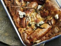 Cumberland and Gorgonzola Toad in the Hole
