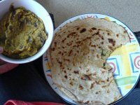 Dal Paratha (Indian Bread) Recipe