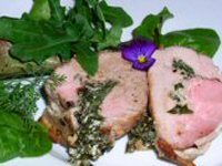 Filet Mignon with Sage and Rosemary (Tenderloin of Pork)