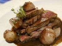 Fillet of Beef with Shallots
