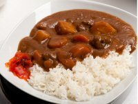 Fruity Beef Curry with Rice