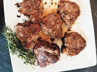 Herb Roasted Lamb Loin Chops