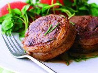 Lamb Noisettes with Lemon and Rosemary Jus