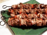 Marinated Lamb Kebabs