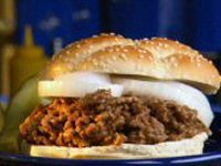 Mince and Onion Sandwich