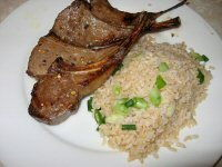 Pan Fried Lamb Chops