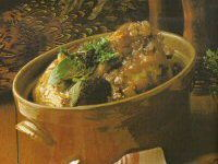 Pheasant Casseroled with Port (Faisan en Casserole)
