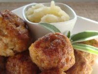Pork and Apple Meatballs Recipe