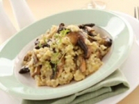 Risotto of Smoked Haddock and Mushrooms