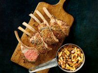 Roast Lamb Guard of Honour with Mustard