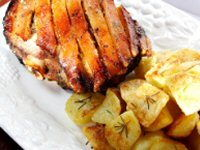 Roast Pork Dinner Recipe