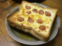 Sausage and Cheese Toastie Recipe