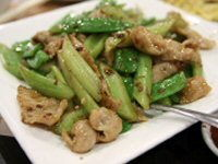 Stir-Fried Pork with Spring Onions