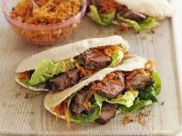 Summer Lamb Pitta Pockets Recipe
