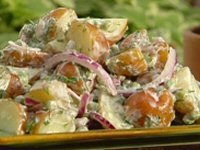 Tangy Goat's Cheese & Dill Potato Salad