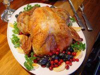 Turkey Stuffed with Chestnut & Apple
