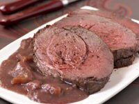 Venison in Huntsman Sauce