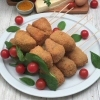 Hot Cheese Skewers