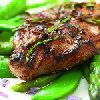 Lamb Valentine Steaks with Pomegranate & Plum Aigre-doux