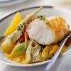 Monk Fish Steak with Saffron